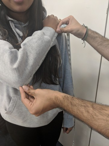 An ulnar measurement